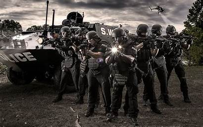 Police Wallpapers Officers Swat