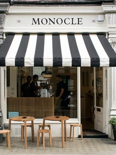 black  white striped awning business google search french cafe decor cafe design cafe decor