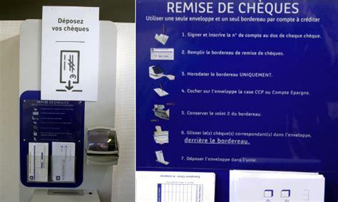 depot cheque banque postale machine le dernier 187 archive 187 les retraites