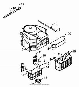 Mtd 13bg698h022  1999  Parts Diagram For Engine