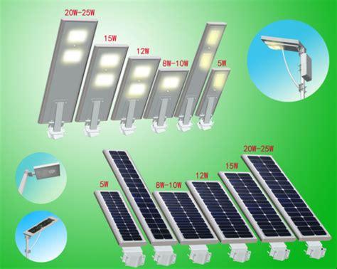 products integrated led solar light manufacturer