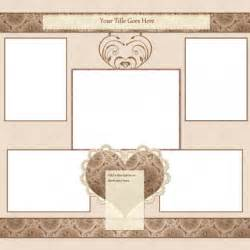 12x12 wedding album the gallery for gt scrapbooking templates free printables