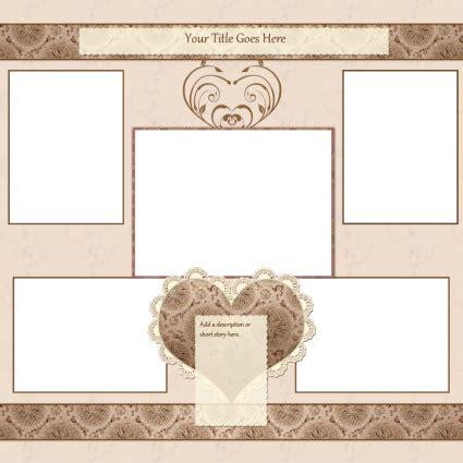 scrapbook templates lovetoknow