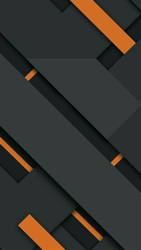 Abstract Black Wallpaper For Mobile by Orange Black Abstract Black Orange In 2019 Mkbhd