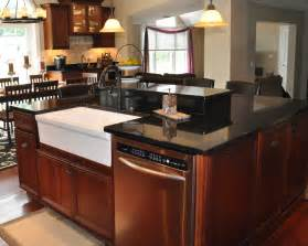kitchen granite island black galaxy granite installed design photos and reviews granix inc