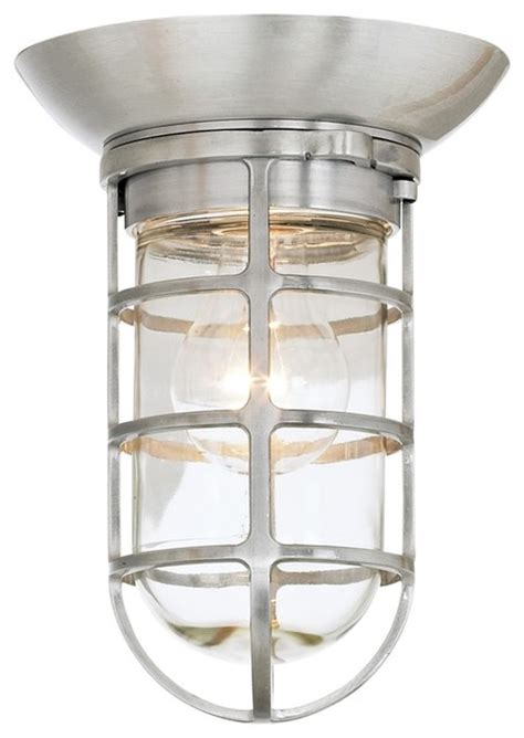 retro industrial outdoor ceiling light style