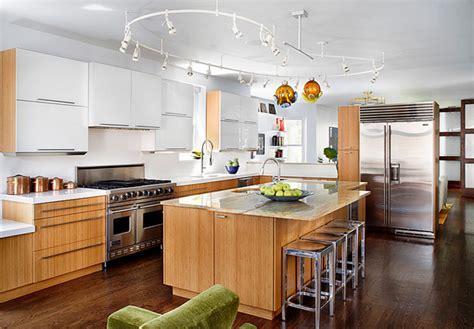 15 Modern Eat in Kitchen Designs   Home Design Lover