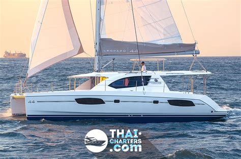 Leopard Catamaran Experience by 171 Leopard 44 187 Sailing Catamaran For Rent In Phuket