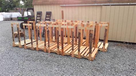 firewood racks youtube