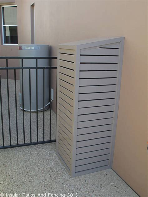 water heater shed aluminium pool and gas bottle enclosure covers
