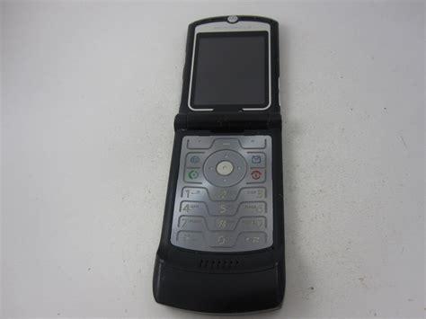 metro pcs flip phones metro pcs motorola razr v3 cdma flip cell phone other