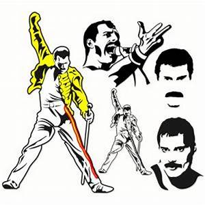 Freddie Mercury Svg Queen Designs