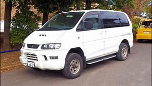 2000 Mitsubishi Delica Turbo Diesel 4x4 Minivan  Canada