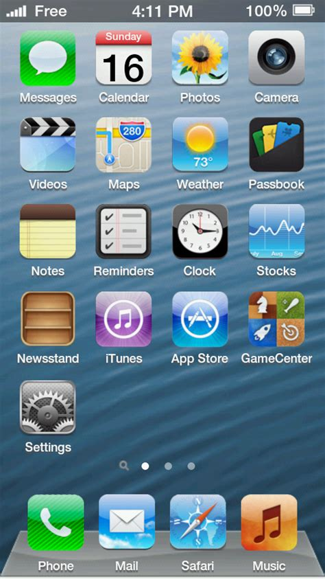 best mobile screen iphone 5 screen mobile app the best mobile app awards