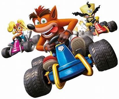 Crash Racing Team Nitro Fueled Ctr Bandicoot