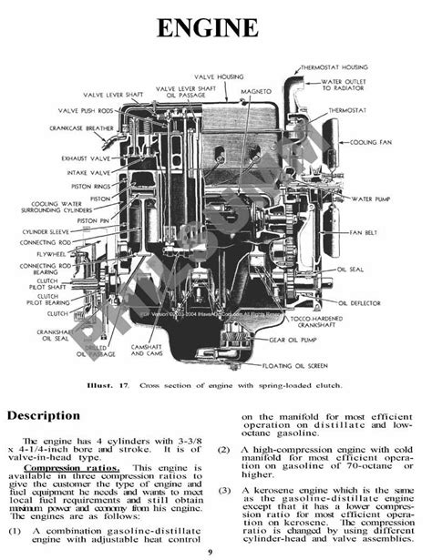 Farmall H Ignition Diagram by Farmall H Hv Tractor Owners Parts Service Manuals Ebay