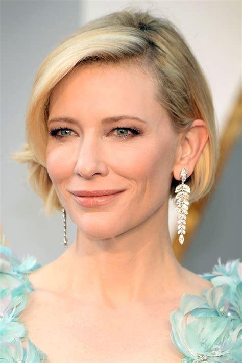 Cate Blanchett's Oscars 2016 Bob Haircut   Pret a Reporter