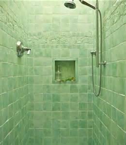 green bathroom tile ideas fresh green shower room with green wall tiles dweef
