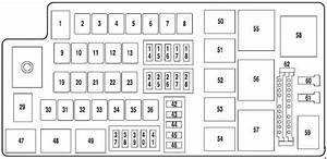 Ford Fresstyle  2004 - 2007  - Fuse Box Diagram