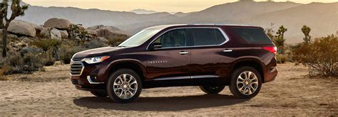 2018 Chevy Traverse Features And Specs
