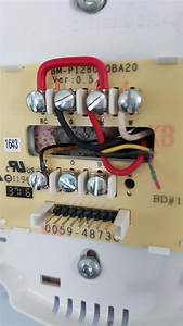 Thermostat Wiring  2 Wires Connecting To Y Terminal