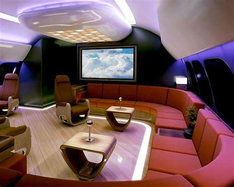 Amazine Private Jet Interior Designs