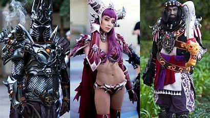 Warcraft Cosplay Cosplayers Writing Re Canon Blizzcon