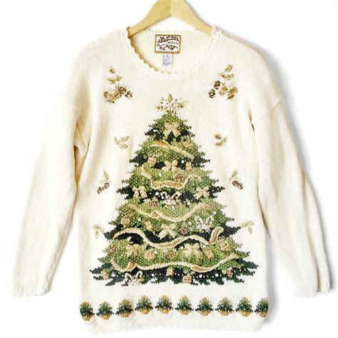 big christmas tree tacky ugly christmas sweater the ugly