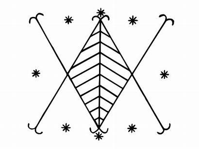 Symbols Voodoo Veve Haitian Loa Symbol