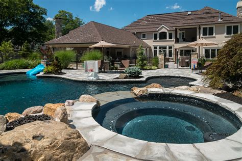 Livingston, Nj  Custom Inground Swimming Pool Design