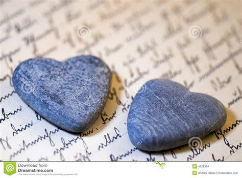 Corazones de piedra foto de archivo Imagen de romance