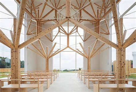 Airy Chapel Held Up By Treelike Fractal Structure In