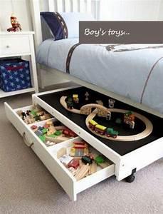 Schubladen Unterm Bett : toy storage ideas spielfl chen stauraum und bett ~ Sanjose-hotels-ca.com Haus und Dekorationen