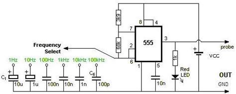 Circuit Diagram Square Wave Generator Using Timer