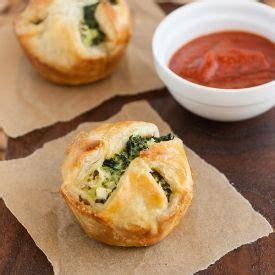 freeze ahead canapes recipes puff pastries spinach and feta and pastries on