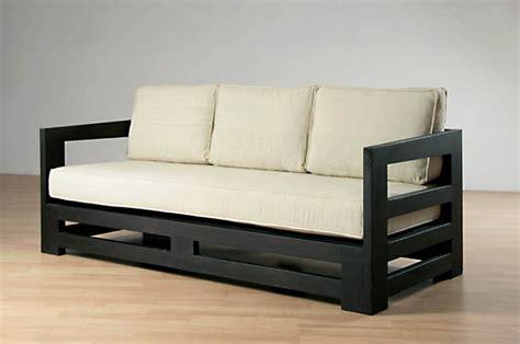 comment fabriquer un canapé en bois de palette canapé bois indien univers canapé