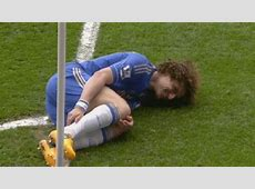 David Luiz smiling Manchester United vs Chelsea Gif