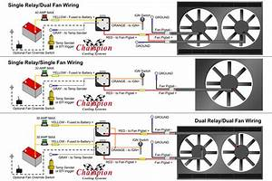Ac Fan Relay Wiring Diagram Electric Fan Relay Diagram How To Wire Radiator Fan To Ignition