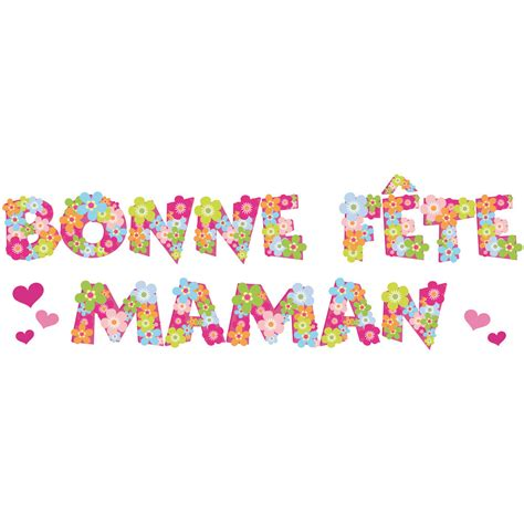 deco de fete fm1 bonne f 234 te maman sticker deco vitres window sticker