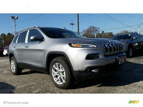 jeep silver 2016 2016 billet silver metallic jeep cherokee latitude 4x4