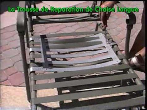 chaise longue piscine la trousse de reparation pour chaise longue