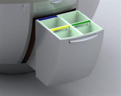Futuristic Compact Kitchen Design: Soria