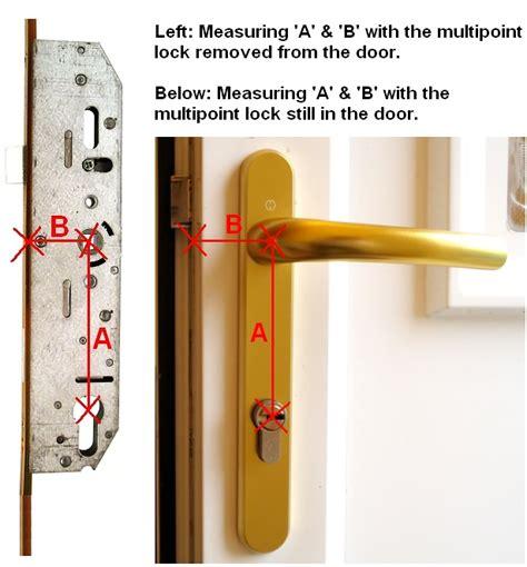 backset measurement  upvc door locks upvc window locks upvc door handles upvc window handles