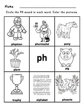 15 best images of ph digraph worksheets digraph sh ch th