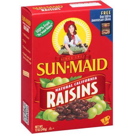 Sun-Maid Natural California Raisins, 12 oz - Walmart.com