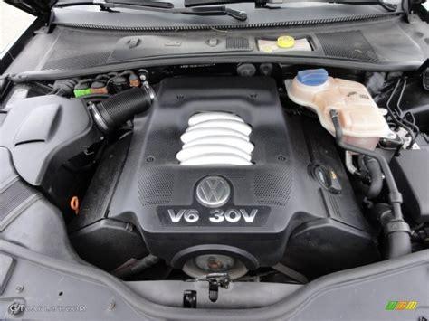 2002 Vw Passat W8 Engine Diagram by 2004 Volkswagen Passat Glx 4motion Wagon 2 8 Liter Dohc 30
