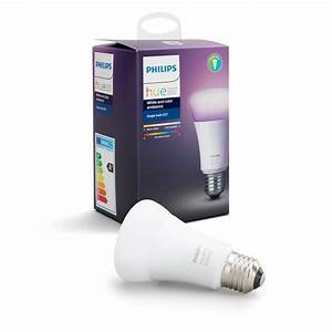 Philips Hue White Ambiance : philips hue white and color ambiance a19 led 60w equivalent dimmable smart wireless light bulb ~ Dallasstarsshop.com Idées de Décoration