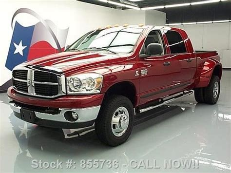 Sell used 2007 DODGE RAM 3500 SLT MEGA 4X4 DIESEL 6PASS