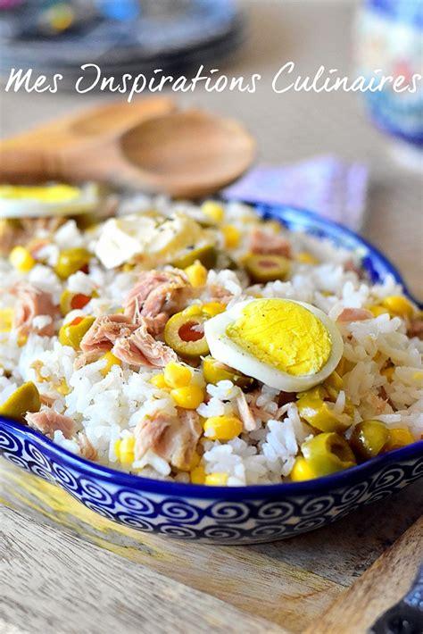 recette cuisine light recette salade de riz light au thon le cuisine de samar