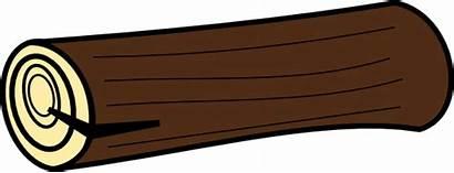 Log Clip Clipart Fire Logs Cliparts Logging